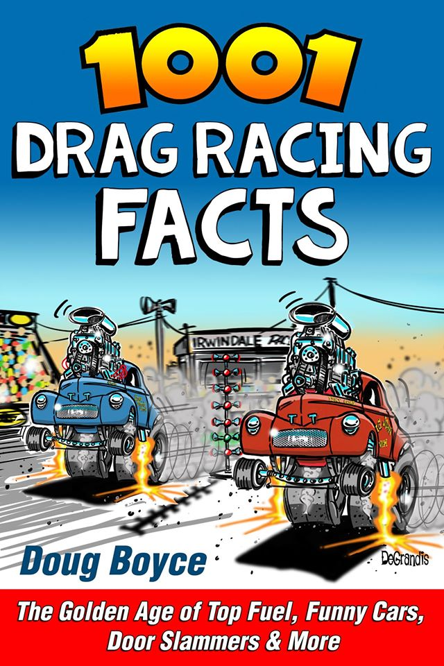 1001 Drag Racing Facts cover