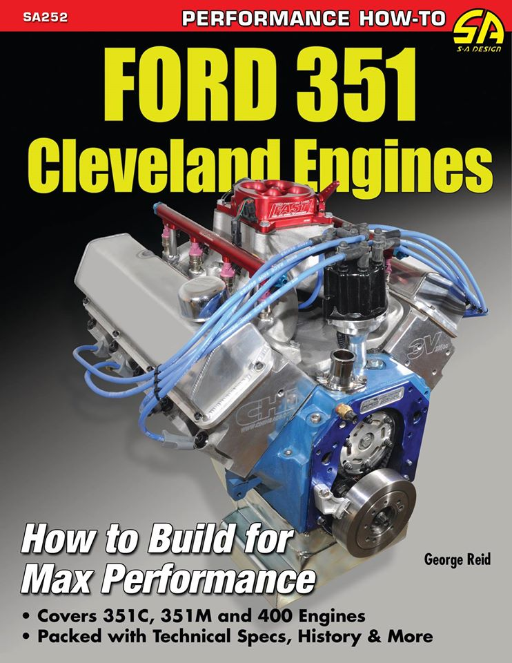 Ford 351 Cleveland cover